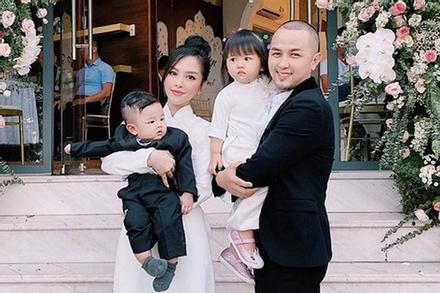 Hotgirl Sài Gòn sinh 2 con vẫn đẹp như gái 18, anh trai Bảo Thy mê mẩn đòi đẻ thêm