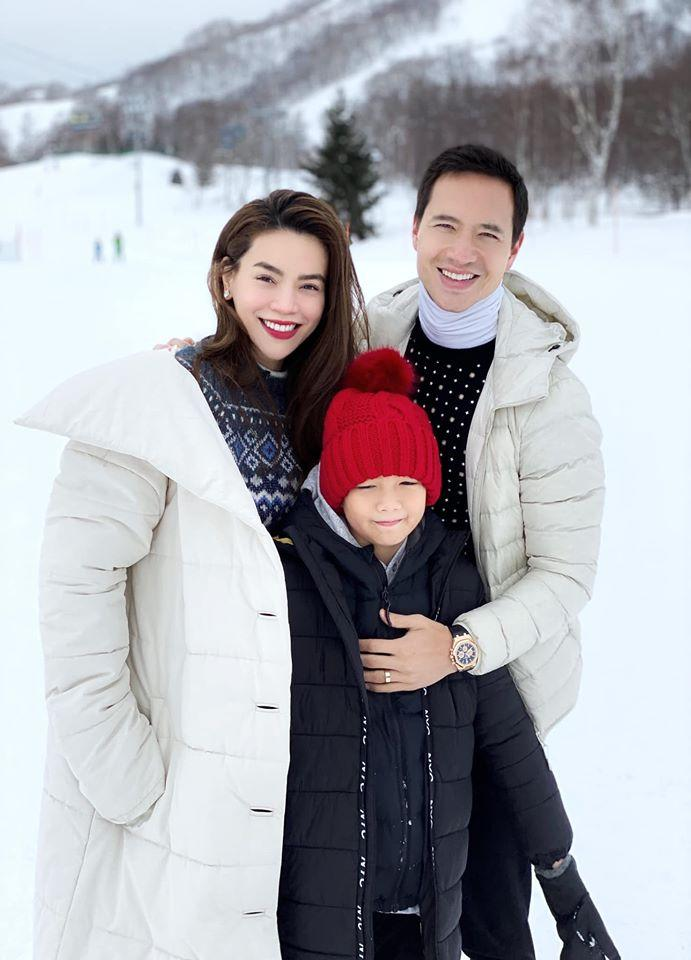 Hồ Ngọc Hà khoe khoảnh khắc cực tình cảm của Kim Lý và Subeo, nhìn chẳng khác nào cha con-5