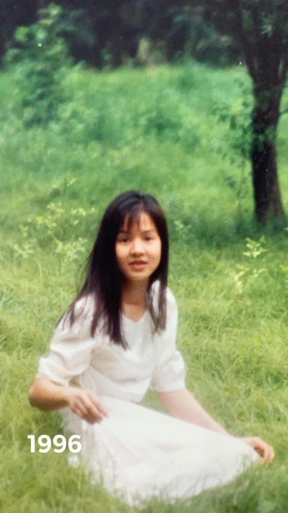Diễm Quỳnh khoe ảnh thời trẻ bên MC Anh Tuấn-1