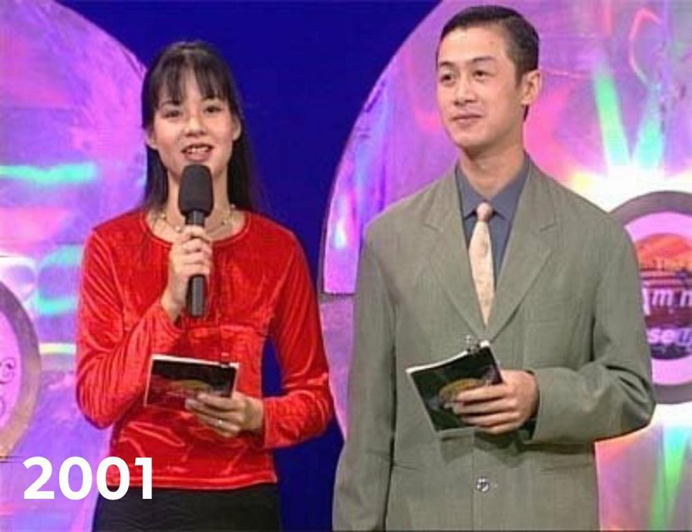 Diễm Quỳnh khoe ảnh thời trẻ bên MC Anh Tuấn-3