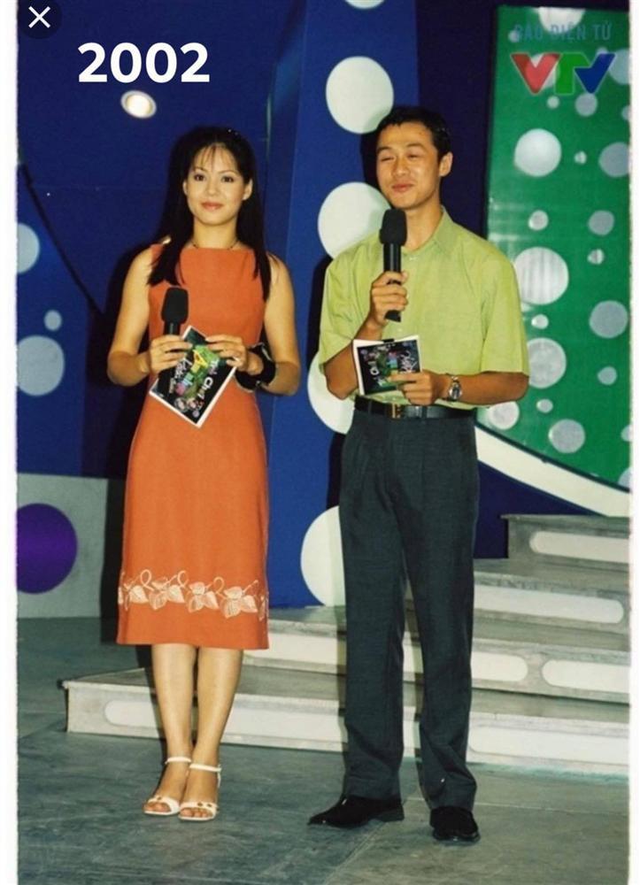 Diễm Quỳnh khoe ảnh thời trẻ bên MC Anh Tuấn-4