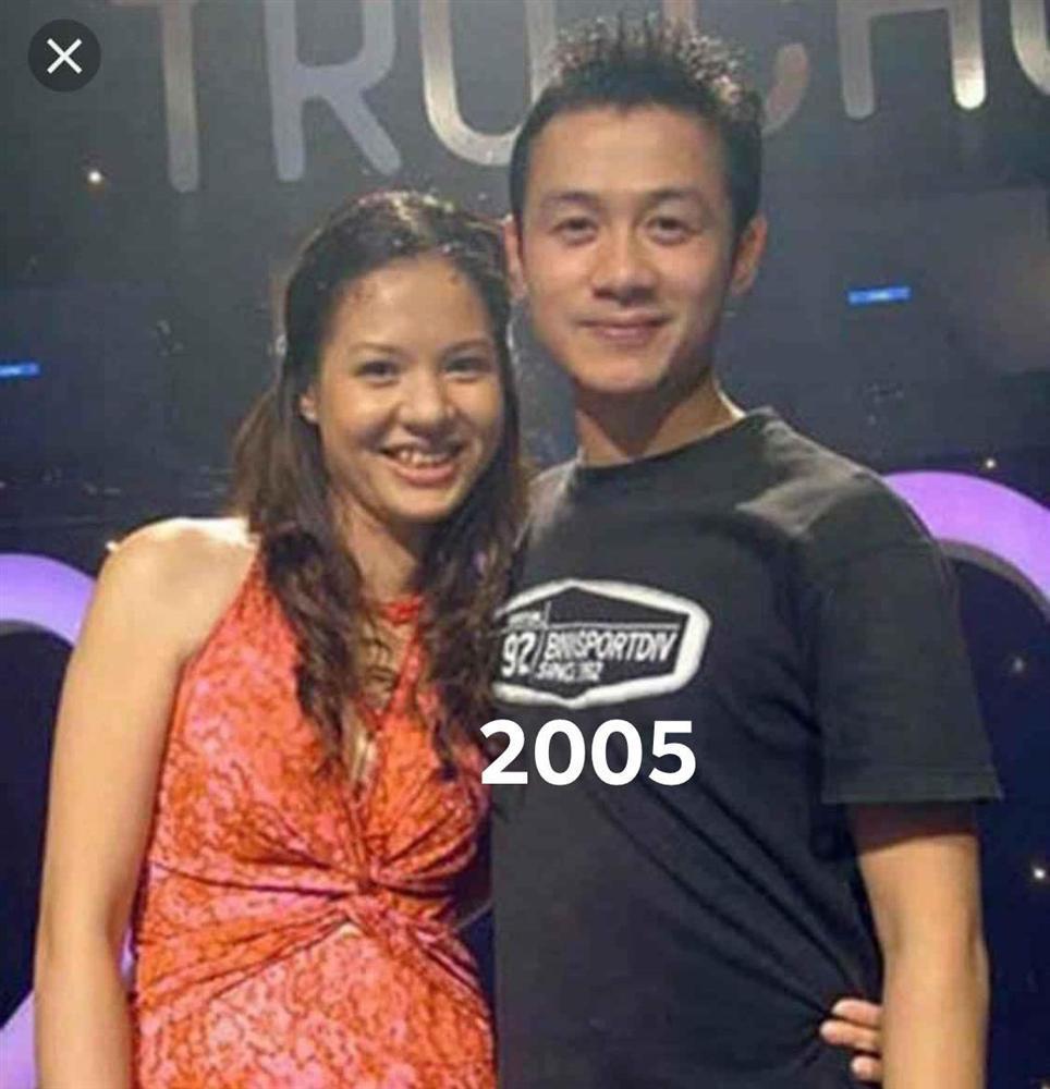 Diễm Quỳnh khoe ảnh thời trẻ bên MC Anh Tuấn-5