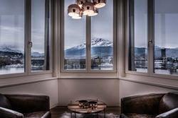 Cận cảnh bên trong khách sạn hạng sang ở Thụy Sĩ cung cấp dịch vụ cách ly lên tới 1,8 tỷ đồng