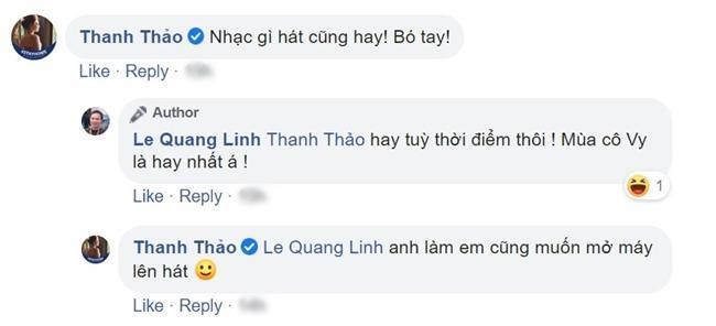 Được khen hát đã hay lại còn tươi trẻ, Quang Linh đùa: Mùa cô Vy là hát hay nhất-4