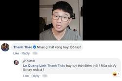 Được khen hát đã hay lại còn tươi trẻ, Quang Linh đùa: 'Mùa cô Vy là hát hay nhất'
