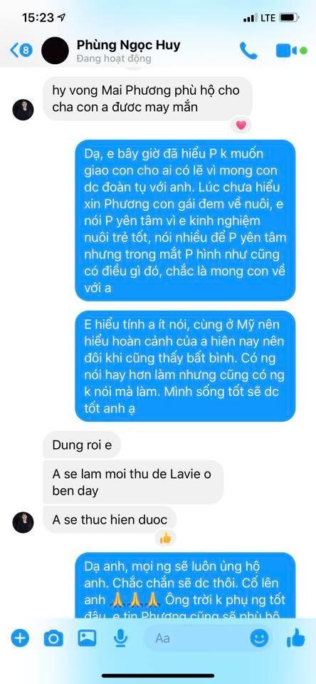 Vy Oanh từng xin nuôi bé Lavie, bây giờ mới hiểu tại sao Mai Phương không đồng ý-2