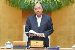 Thủ tướng: Hy sinh tăng trưởng ngắn hạn để bảo vệ tính mạng người dân