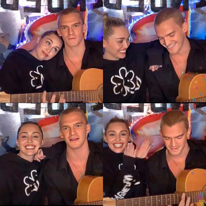Miley Cyrus cắt tóc cho bạn trai-2