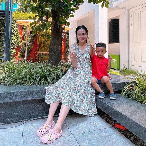 Từ ngày lấy Duy Mạnh làm chồng, Quỳnh Anh hiếm khi khoe hàng hiệu xa xỉ như xưa-11