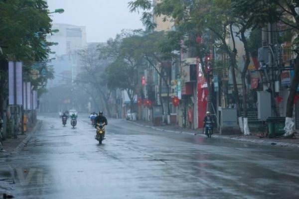 Ảnh hưởng không khí lạnh, Bắc Bộ có mưa diện rộng trong 3 ngày tới-1
