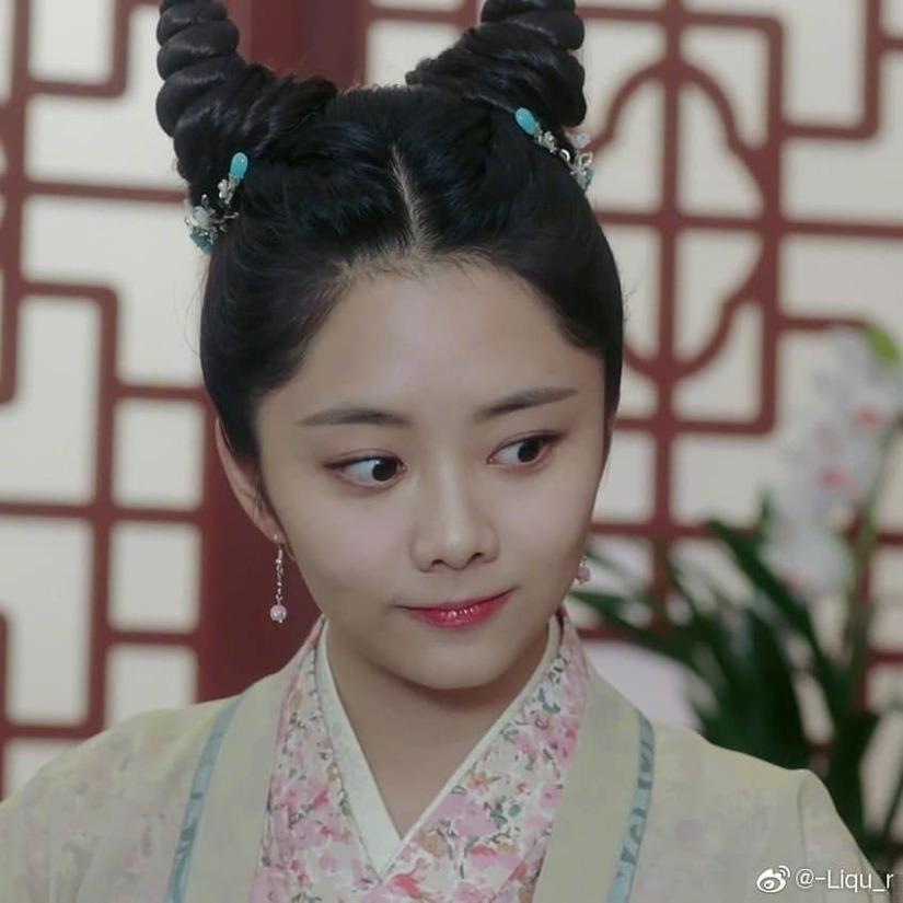 Kiểu tóc sừng dê, hot trend mới trong phim Trung Quốc-1