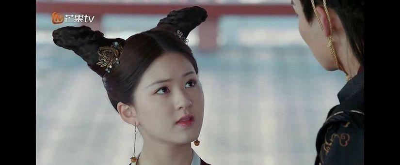 Kiểu tóc sừng dê, hot trend mới trong phim Trung Quốc-2