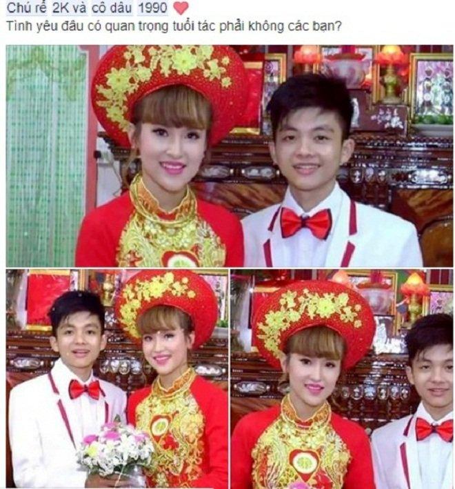 Từng náo loạn MXH vì đám cưới lệch 10 tuổi, cô dâu 9X lấy chú rể 2000 ở Tiền Giang giờ ra sao?-1