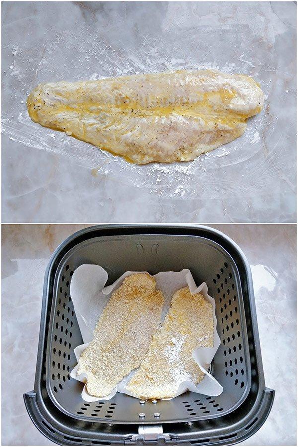 Phi lê cá chiên xù dễ như trở bàn tay với nồi chiên không dầu-2