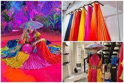 Chết cười trước cách Hoàng Ku tạo ra chiếc đầm độc đáo cho Hoàng Thùy Linh trong MV 'Kẻ cắp gặp bà già'