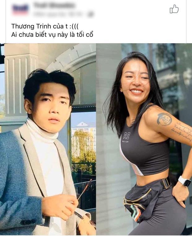 Cô gái bị đồn tiểu tam phá vỡ chuyện tình 3 năm của Thái Trinh - Quang Đăng lên tiếng-1