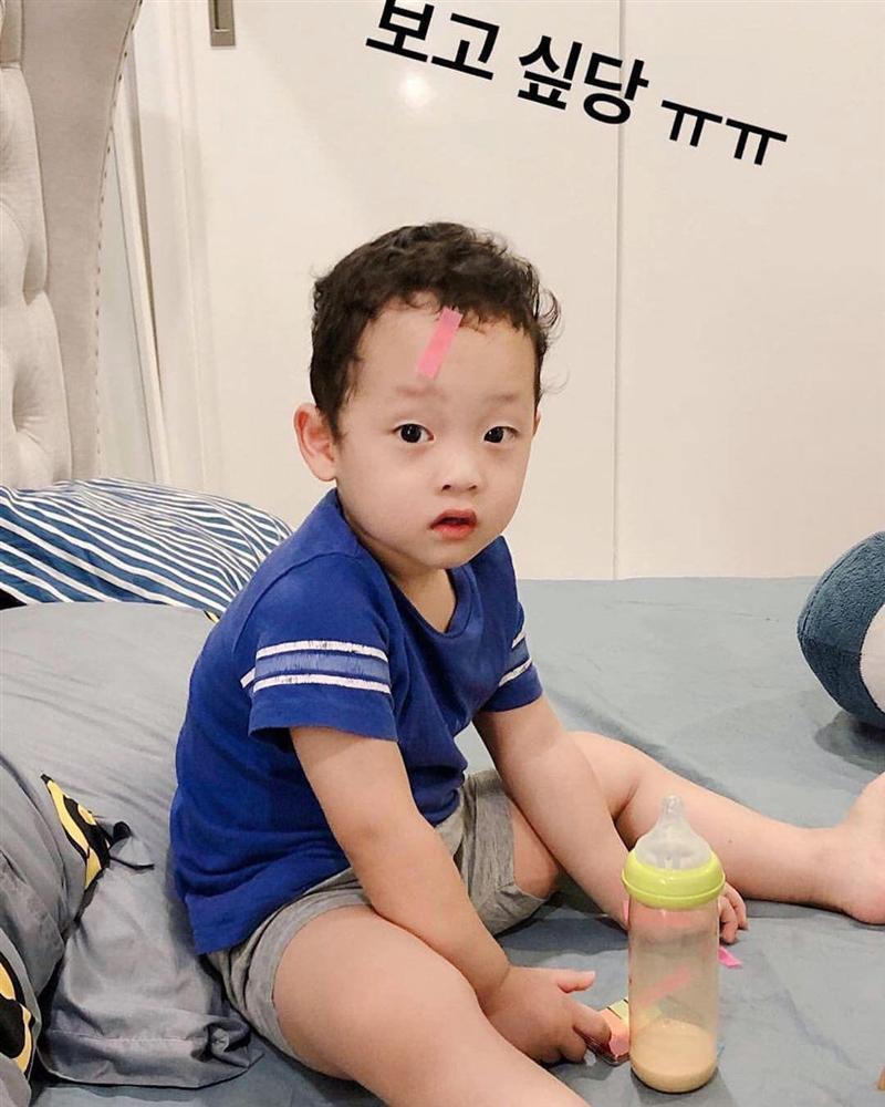 Sau 4 năm làm mẹ đơn thân, Ly Kute lần đầu tiết lộ tên thật con trai Khoai Tây-3