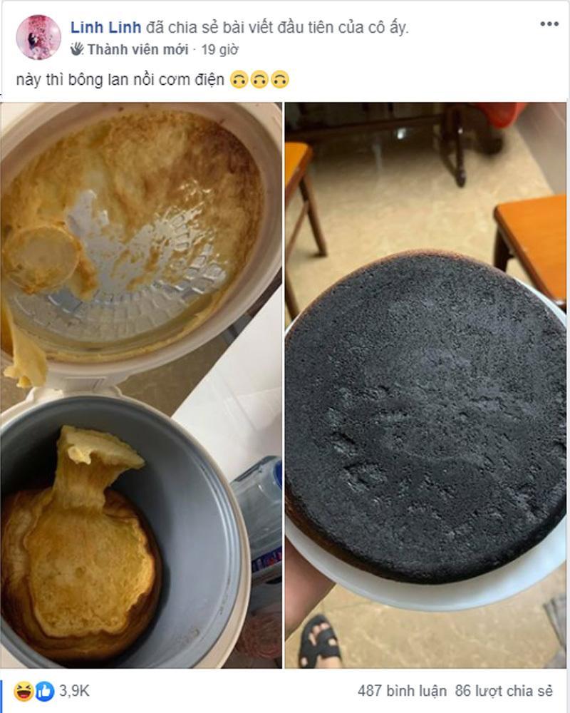 Lần đầu trổ tài làm bánh Flan, cô gái gục ngã ngay khi nhìn thấy kết quả-5