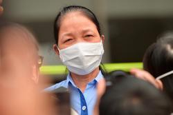 Nữ nhân viên Công ty Trường Sinh khỏi bệnh sau 10 ngày điều trị: 'Các con yên tâm không phải lo cho mẹ. Mẹ có công ty và Nhà nước lo'