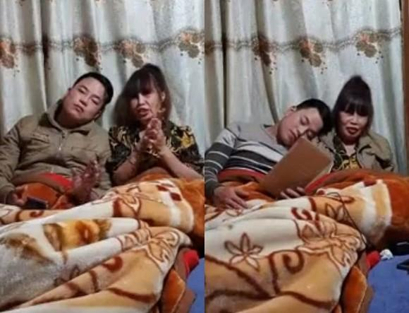 VZN News: Cô dâu 63 tuổi ở Cao Bằng dậy sóng MXH với màn dùng miệng đút đồ ăn cho chồng trẻ-1