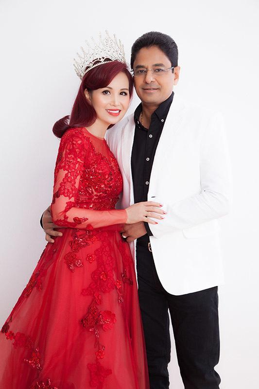 Cuộc sống Hoa hậu giỏi ngoại ngữ nhất Việt Nam với chồng Ấn Độ hiện ra sao?-3