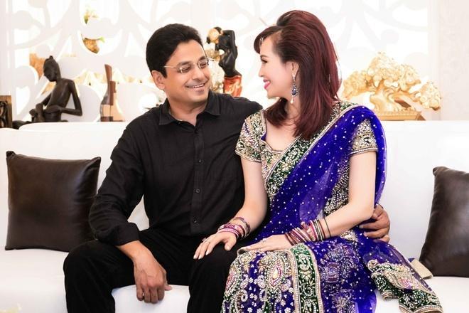 Cuộc sống Hoa hậu giỏi ngoại ngữ nhất Việt Nam với chồng Ấn Độ hiện ra sao?-4
