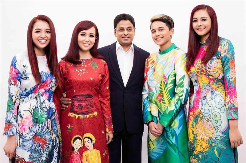 Cuộc sống Hoa hậu giỏi ngoại ngữ nhất Việt Nam với chồng Ấn Độ hiện ra sao?-12