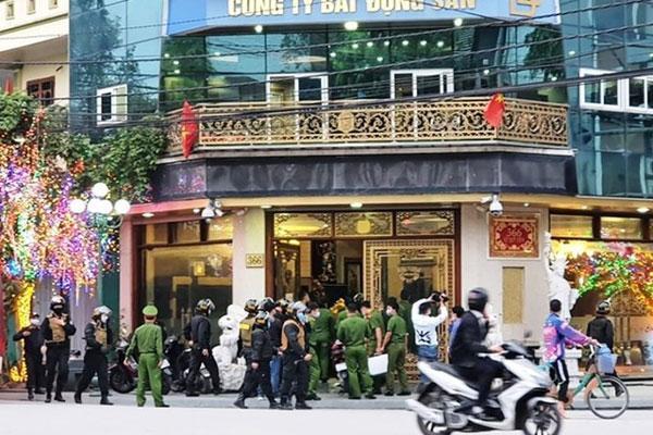 Nữ doanh nhân bất động sản nổi tiếng Thái Bình bị bắt-1