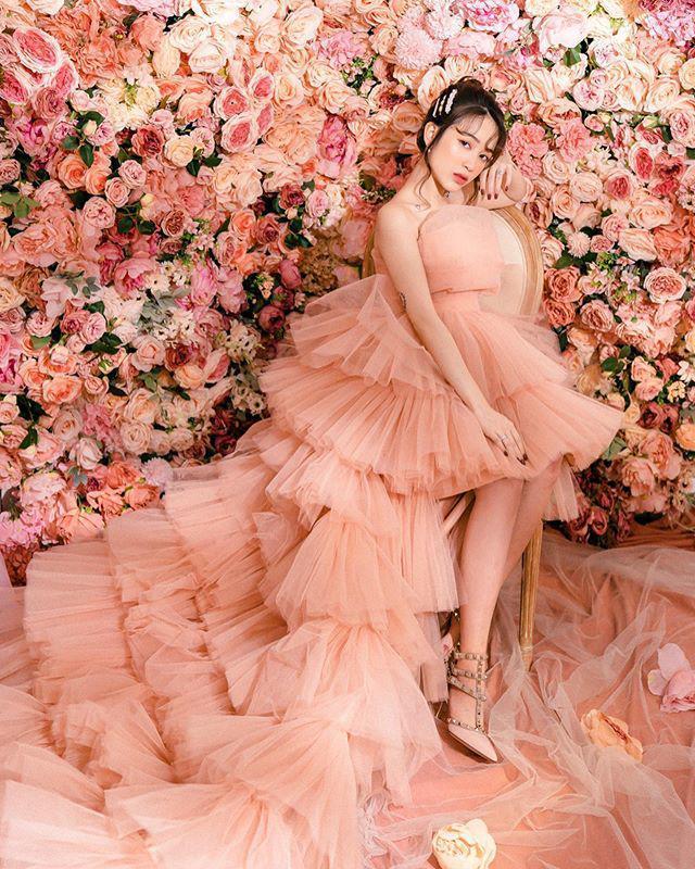 Con gái đại gia Minh Nhựa khoe hành trình nhan sắc 4 năm, đỉnh cao nhất là lúc mang bầu-1