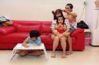 Hội chị em 'phát hờn' khi chứng kiến Phan Hiển làm tóc cho Khánh Thi