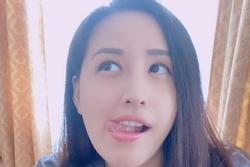 Hoa hậu Mai Phương Thúy 'phê tới bến' khi được ăn no