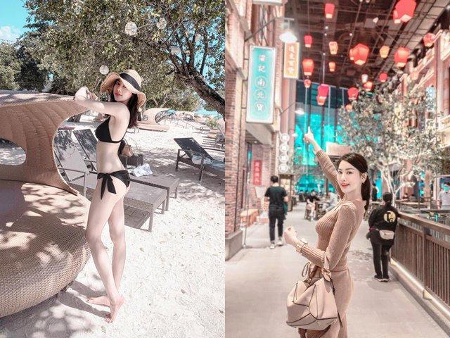 Diện bikini chật căng để lộ vòng một cả mét, cô gái khiến dân mạng thi nhau săn lùng-2