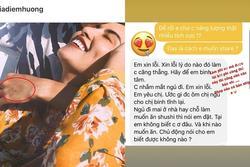 Giữa nghi vấn ly hôn Quang Huy, hoa hậu Diễm Hương khoe tin nhắn mùi mẫn với 'phi công trẻ'