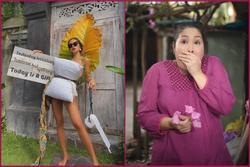 Cũng muốn đu trend lấy gối làm váy nhưng tâm sự của NSND Hồng Vân khiến fan cười bò