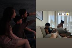 Cường Đô La chụp lén Đàm Thu Trang - Subeo, gây chú ý là trạng thái của mỗi nhân vật