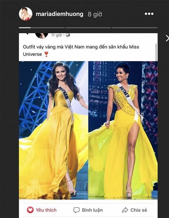 Bị so sánh váy áo với HHen Niê, Diễm Hương ứng xử cực thông minh-1