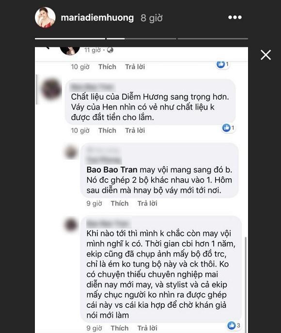 Bị so sánh váy áo với HHen Niê, Diễm Hương ứng xử cực thông minh-2