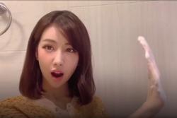 Min nhảy 'Ghen Cô Vy' phiên bản 'Rửa tay xà phòng'