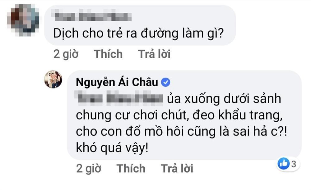 Vợ chồng Huỳnh Đông - Ái Châu bị nhắc nhở gay gắt vì đưa con ra khỏi nhà-1