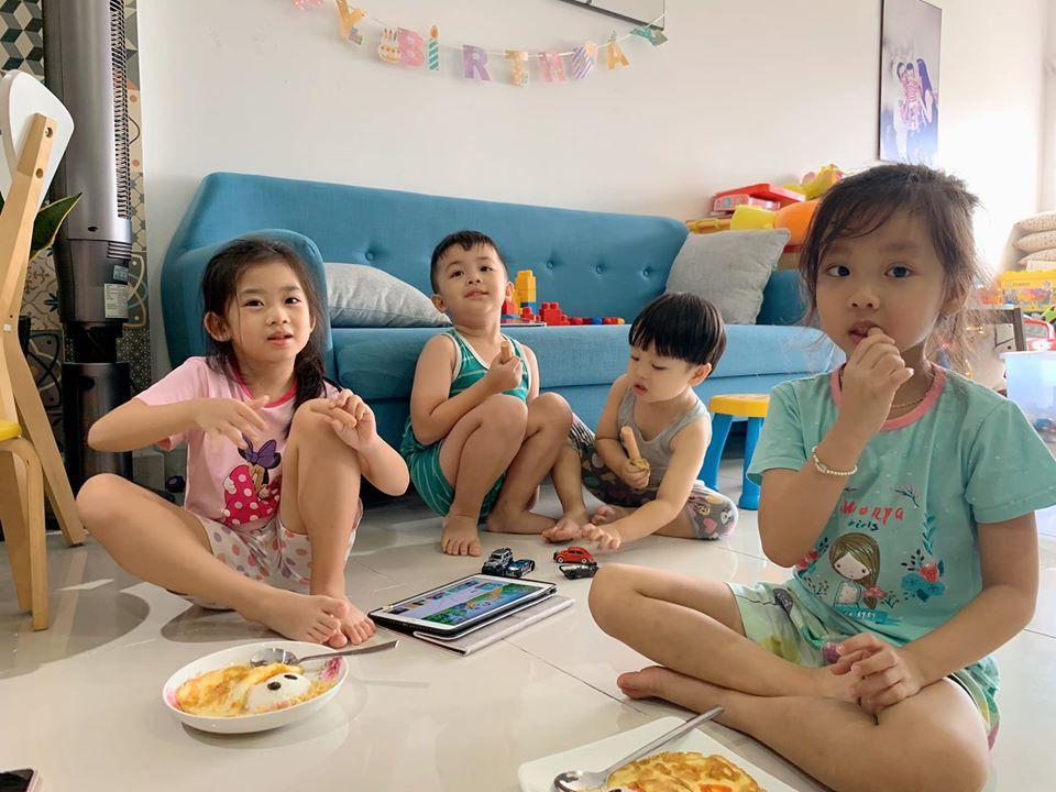 Vợ chồng Huỳnh Đông - Ái Châu bị nhắc nhở gay gắt vì đưa con ra khỏi nhà-5