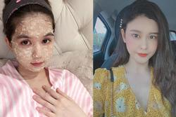 Không cần đến spa, các người đẹp vẫn massage da mặt tại nhà với nguyên liệu rẻ tiền, dễ kiếm