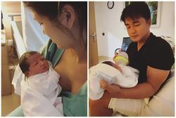 Chồng đại gia chăm Oanh Yến và con trai trong viện