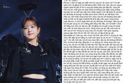 Fan Việt bị ung thư viết cho Jisoo BLACKPINK: Từ giã cõi đời ở tuổi 17 vẫn mang theo yêu thương tận cùng