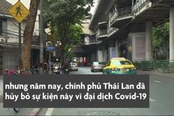 Songkran không té nước lạ thường ở Bangkok