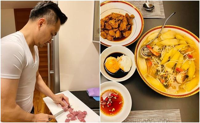 Sao Việt tiết kiệm mùa dịch: Người mặc đồ cả tuần mới giặt, người chăm chỉ vào bếp nấu ăn-8