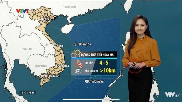 BTV thời tiết Xuân Anh bật mí về tác dụng của thiết bị đặc biệt cầm trên tay mỗi khi dẫn chương trình-2