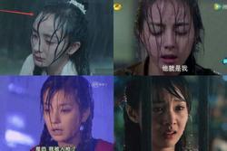 Cảnh mưa ở phim Hoa ngữ: phun nước quá lố 'dìm hàng' nhan sắc diễn viên