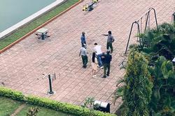 Bất chấp lệnh cách ly, cặp đôi ra công viên hẹn hò lập tức bị 'hốt lên phường'
