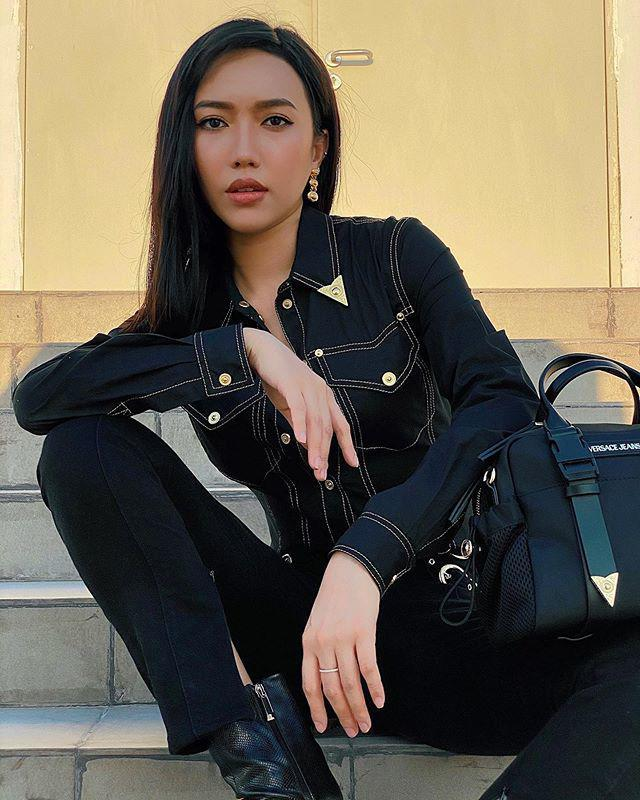 Chi Pu make up xinh giống diễn viên Thái Baifern - Đức Phúc cắt tóc như cái bát úp-2