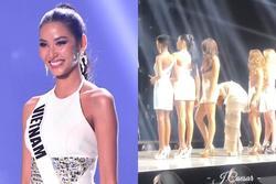 Bản tin Hoa hậu Hoàn vũ 17/4: Fancam chứng minh body Hoàng Thùy 'chặt' nguyên dàn thí sinh